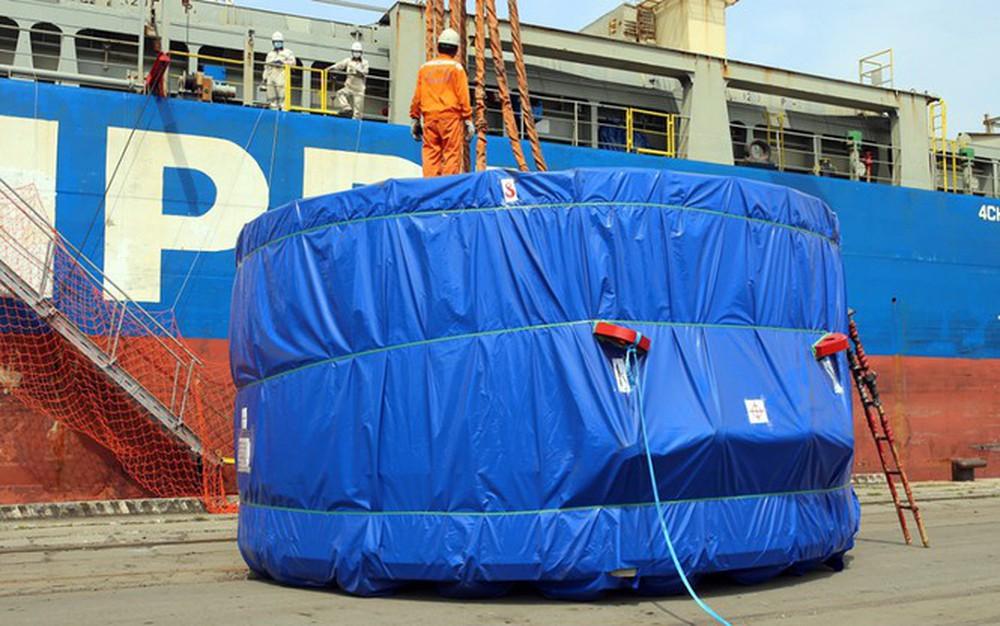Robot đào hầm Metro Nhổn - ga Hà Nội cập cảng Hải Phòng - Ảnh 4.
