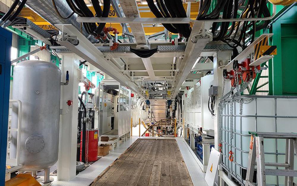 Robot đào hầm Metro Nhổn - ga Hà Nội cập cảng Hải Phòng - Ảnh 5.