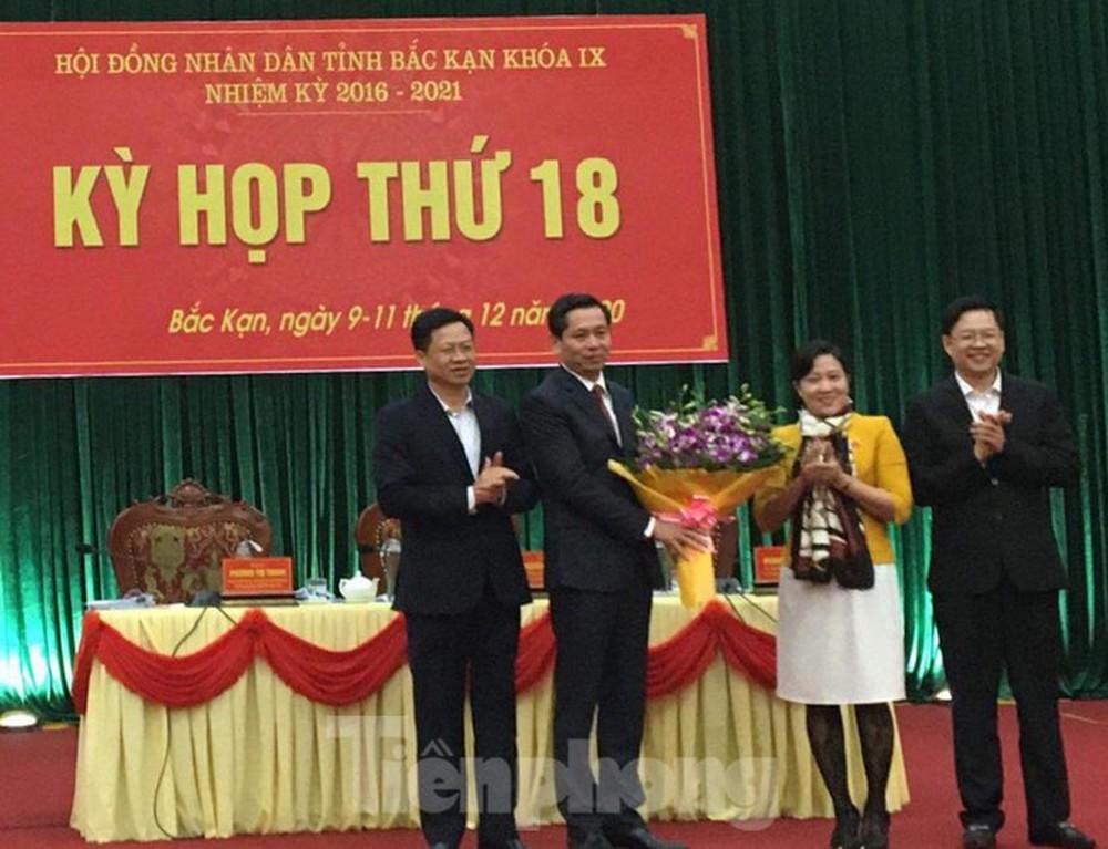 Ông Nguyễn Long Hải được bầu làm Chủ tịch UBND tỉnh Bắc Kạn - Ảnh 1.
