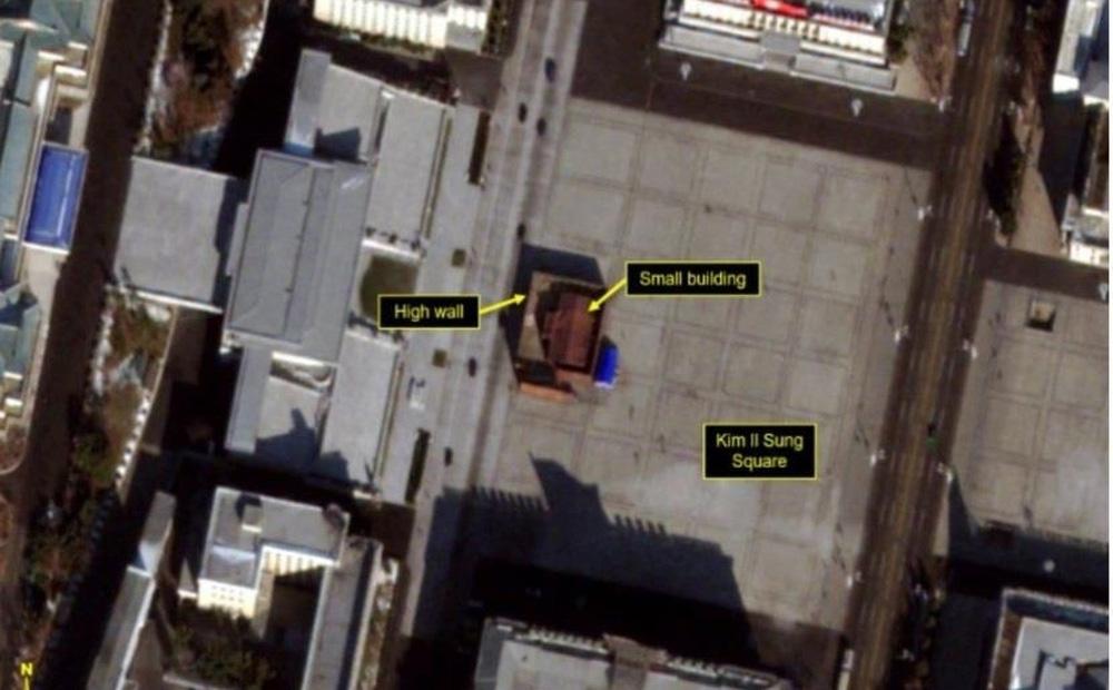 """Hé lộ về """"công trình bí ẩn"""" xuất hiện ngay trung tâm Triều Tiên"""