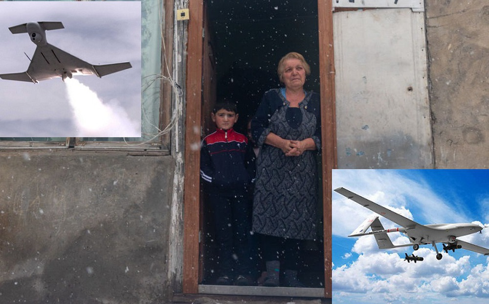 """""""Quỳ xuống và cầu nguyện"""": Cuộc sống ở ngôi làng Armenia cách quân Azerbaijan chỉ 9 km"""