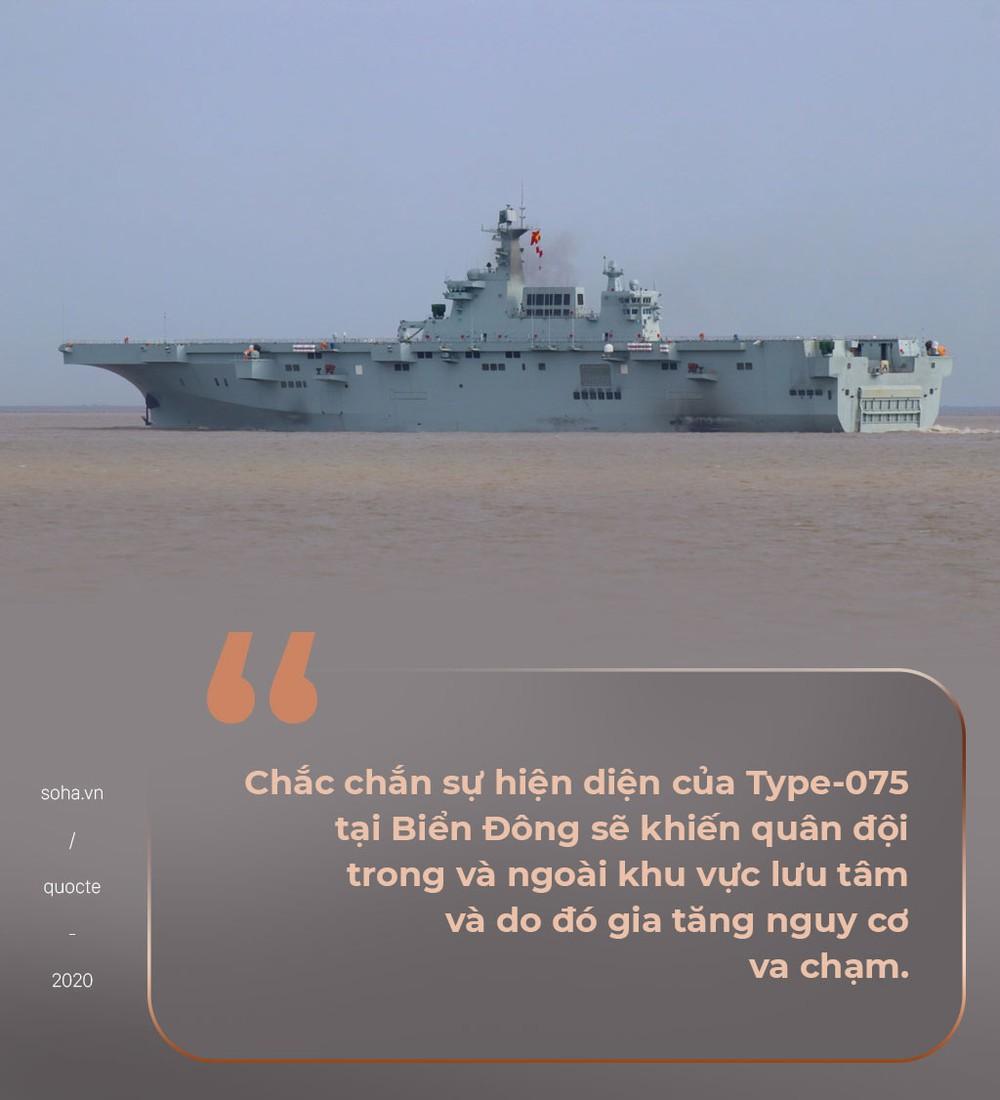 TQ sắp đưa tàu đổ bộ tấn công tiên tiến nhất ra căn cứ ở Biển Đông, chuyên gia cảnh báo gia tăng va chạm - Ảnh 5.
