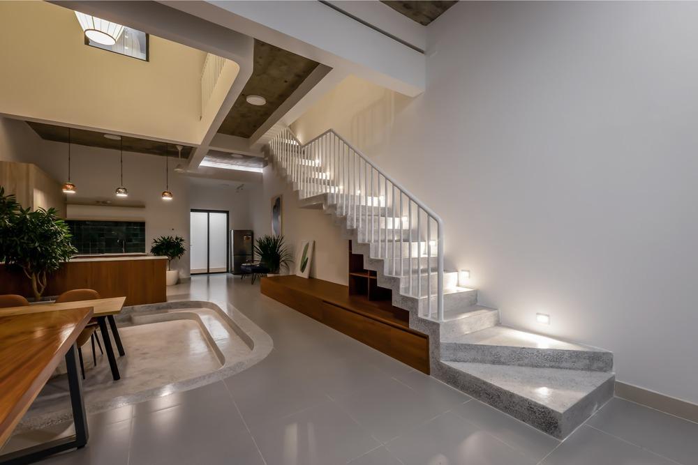 Công trình bằng gạch nung được cải tạo từ nhà kho đẹp lung linh trên báo Mỹ - Ảnh 6.