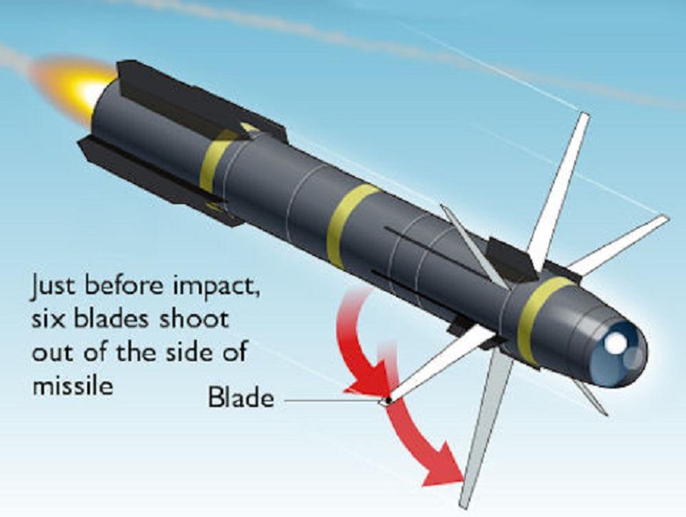 AGM-114R9X - Tên lửa chém phăng mọi mục tiêu trên đường bay: Tại sao Mỹ tin dùng? - Ảnh 1.