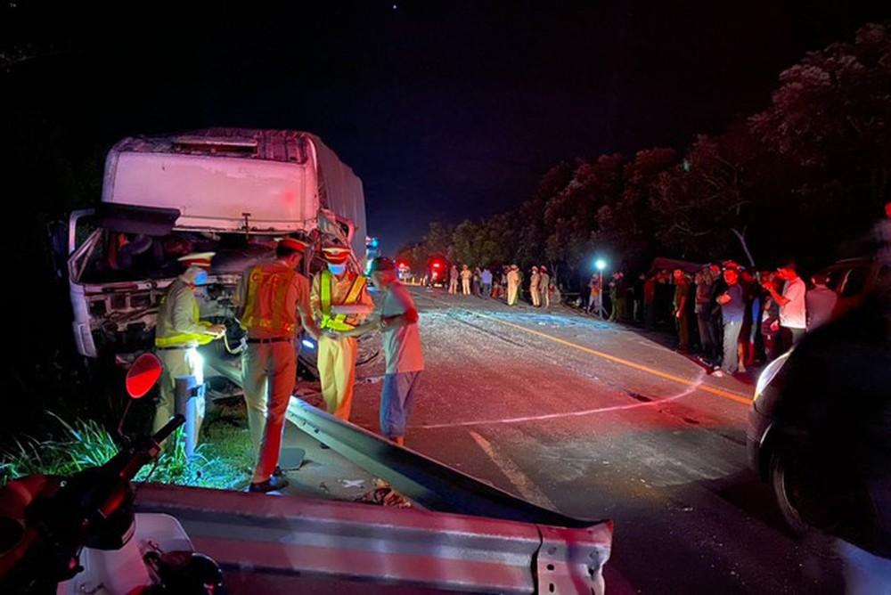 Tai nạn 8 người tử vong ở Bình Thuận: 1 phút trước tai nạn, xe khách giảm tốc độ từ 80km/h xuống 69km/h - Ảnh 1.