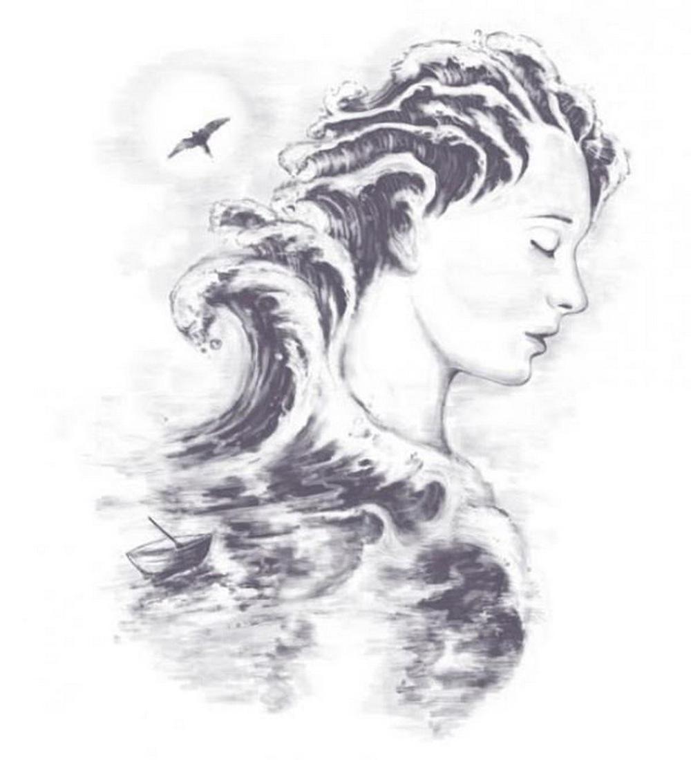 """Ấn tượng thị giác: Cô gái hay sóng biển làm bạn """"say"""" trước tiên - Ảnh 1."""