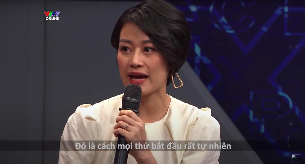 Chồng MC Phí Linh: Sau khi xem chương trình trên tivi, tôi đã mơ về việc cưới cô ấy - Ảnh 2.