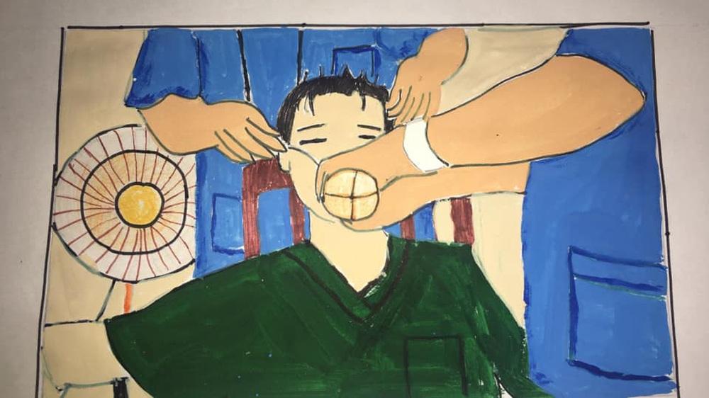 Không thể đưa con đi du lịch vì dịch Covid, gia đình mở cuộc thi vẽ tranh, tác phẩm nhận được mới bất ngờ - Ảnh 4.