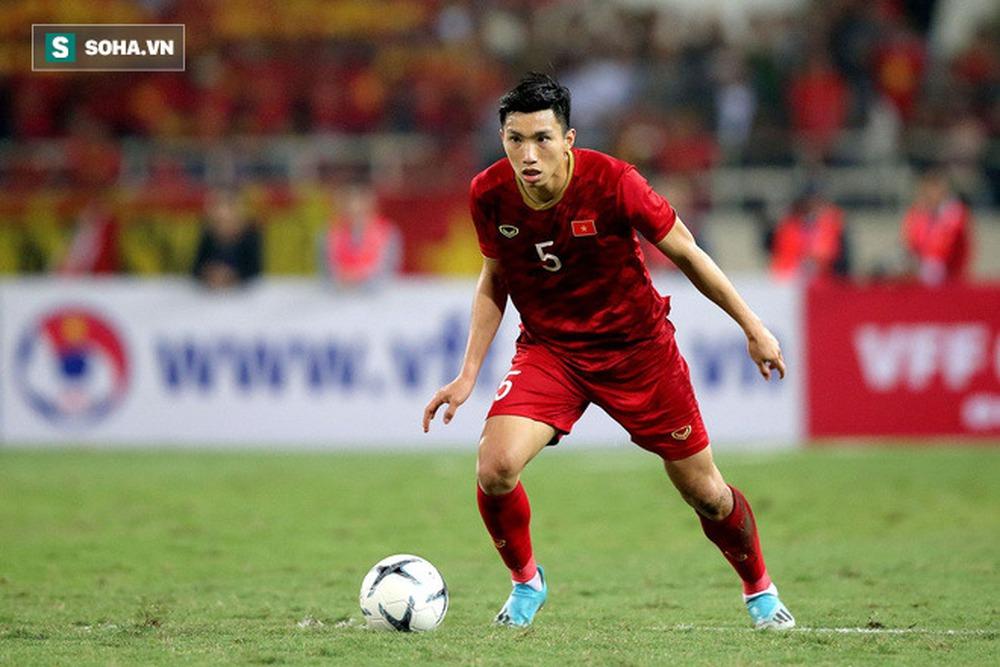 FIFA phỏng vấn Đoàn Văn Hậu, nhắc về mục tiêu gây choáng váng thế giới của ĐT Việt Nam - Ảnh 2.