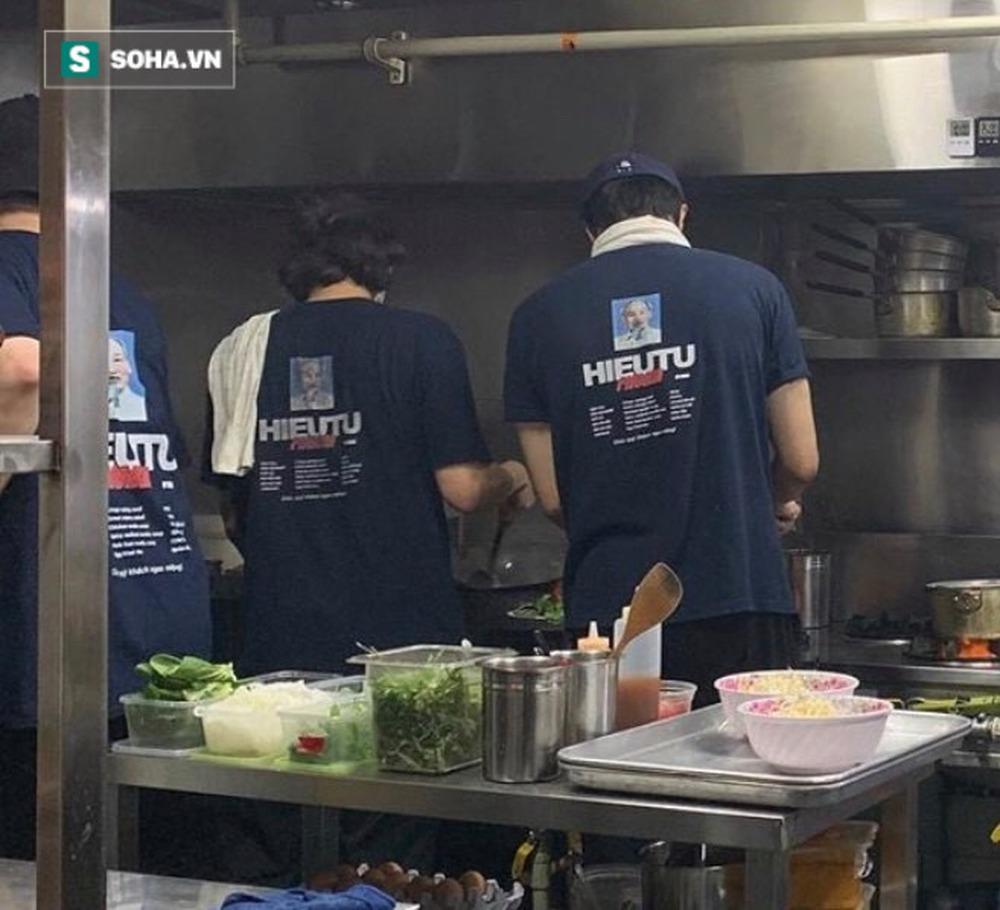 Quán vỉa hè Việt Nam mọc lên giữa Seoul, nhân viên mặc đồng phục in hình Chủ tịch Hồ Chí Minh - Ảnh 8.