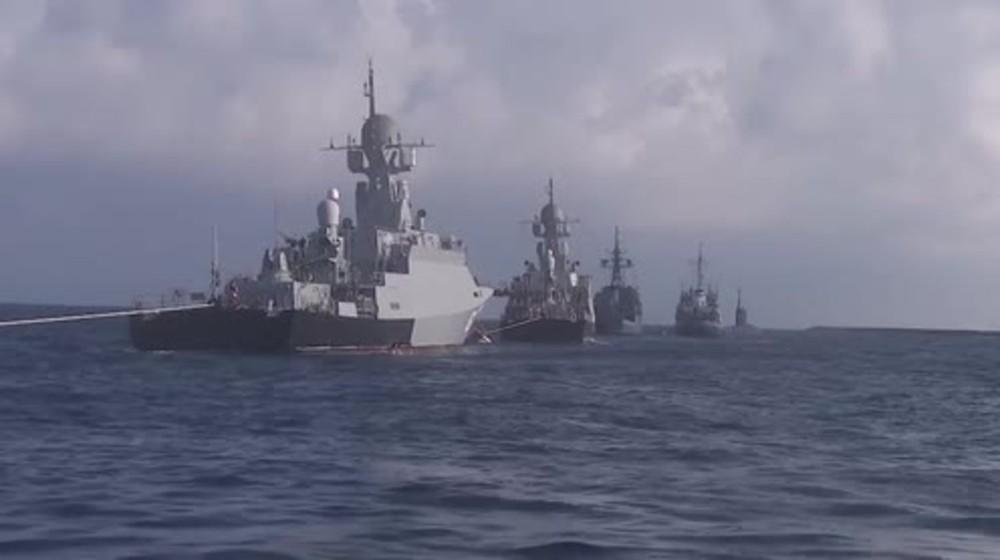Bị Mỹ bỏ rơi, Thổ Nhĩ Kỳ cầu cứu Nga: Moscow cấp tốc đưa tàu chiến vào Địa Trung Hải - Ảnh 1.