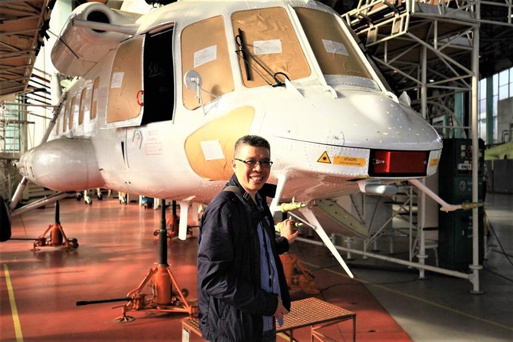 Thăm nhà máy chế tạo trực thăng của Anh hùng lao động Nga - Ảnh 2.
