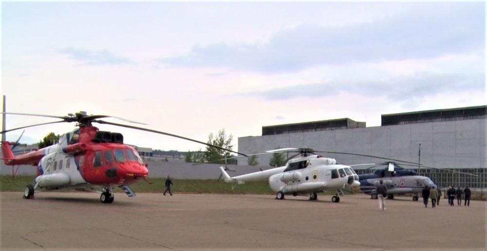 Thăm nhà máy chế tạo trực thăng của Anh hùng lao động Nga - Ảnh 4.