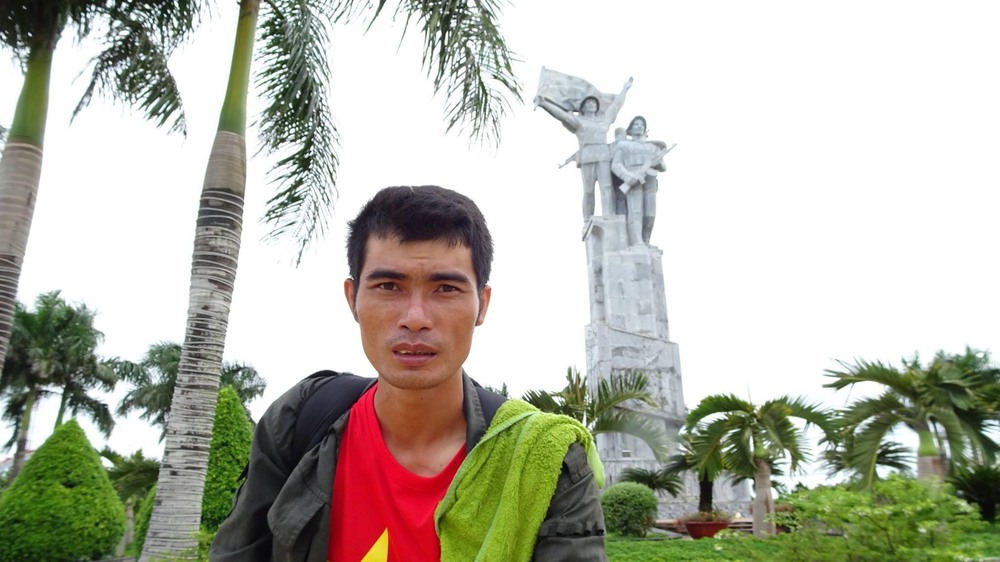 Kinh doanh lỗ gần 1 tỷ đồng, chàng trai Bắc Giang đi bộ xuyên Việt 65 ngày bỏ lại tất cả sau lưng - Ảnh 7.