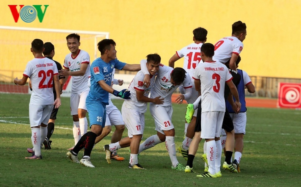 Ngày này năm xưa: Viettel chính thức lên hạng V-League - Ảnh 1.