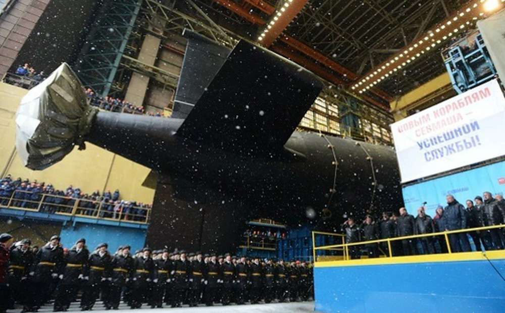 Hé lộ thời điểm Hải quân Nga nhận siêu tàu ngầm hạt nhân