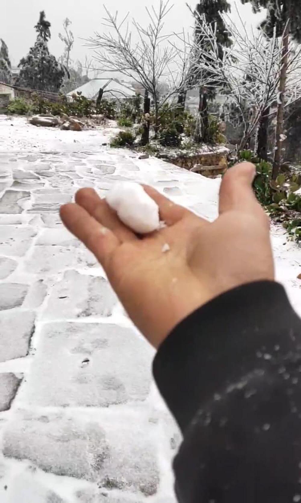 Y Tý tuyết rơi trắng xoá: Ảnh và clip liên tục được chia sẻ lên mạng xã hội - Ảnh 3.
