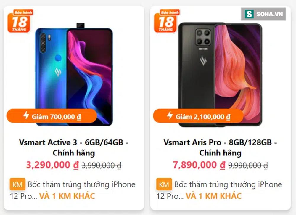 Vsmart Aris và smartphone giá rẻ nhất của Samsung đang giảm giá cực hời vào dịp Tết - Ảnh 1.