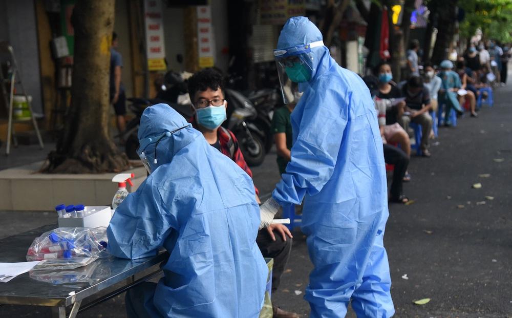 Sáng 1/10, Hà Nội phát hiện thêm 5 ca mắc Covid-19 trong cộng đồng