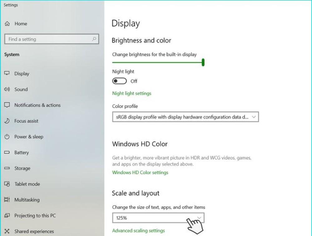1001 cách phóng to màn hình máy tính win 10, Macbook chi tiết - Ảnh 13.