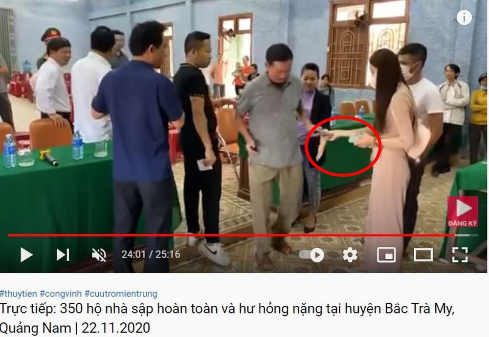 Livestream tố Thủy Tiên tay cầm tiền dư, giấy báo phát đủ, chi tiết mấu chốt xuất hiện ở 60 giây cuối - Ảnh 3.