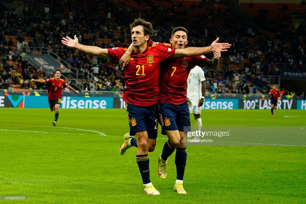 Mbappe ghi bàn thắng ma, Pháp đánh bại Tây Ban Nha để giành ngôi vô địch châu Âu - Ảnh 1.