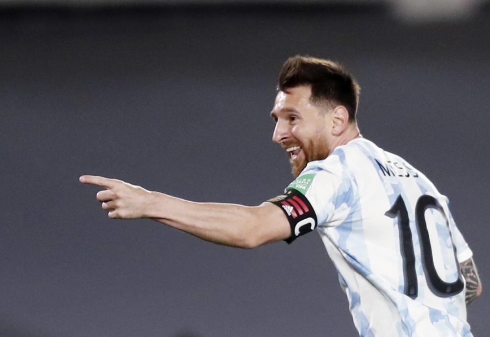 Messi tỏa sáng, Argentina thắng đậm Uruguay - Ảnh 1.