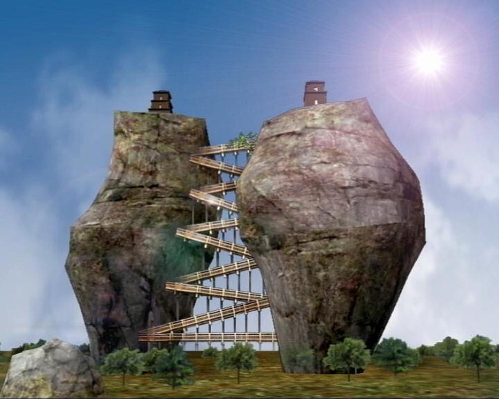 Tháp đôi trăm tuổi sừng sững trên cột đá 40m, du khách nào đến cũng cùng câu hỏi: Không đường lên thì xây kiểu gì? - Ảnh 9.