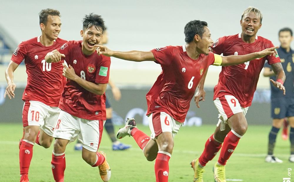 """Indonesia có trận thắng bùng nổ tại giải châu Á, """"đè bẹp"""" đối thủ cao hơn 24 bậc trên BXH FIFA"""