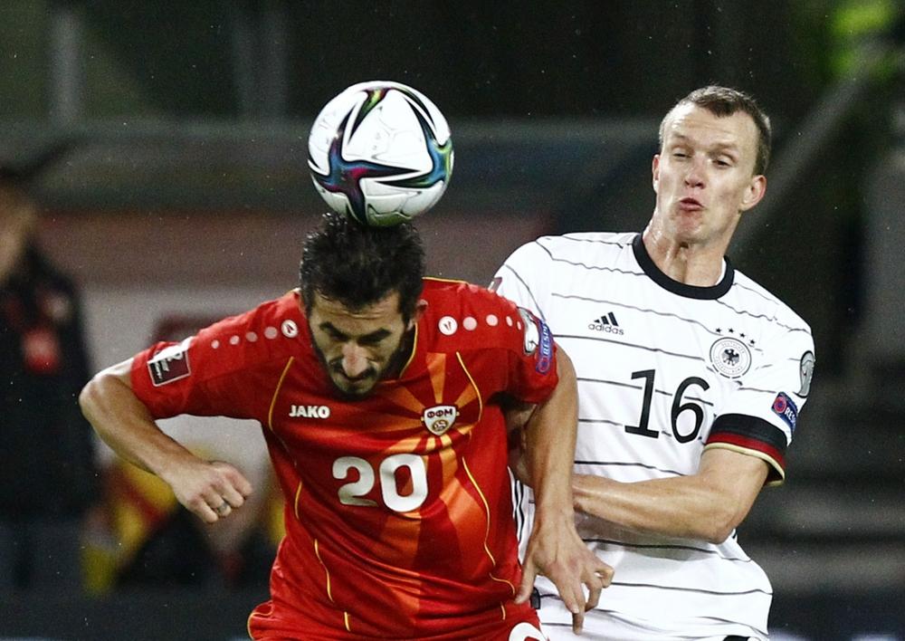 Đức giành vé dự VCK World Cup 2022 sau trận thắng đậm Bắc Macedonia - Ảnh 1.