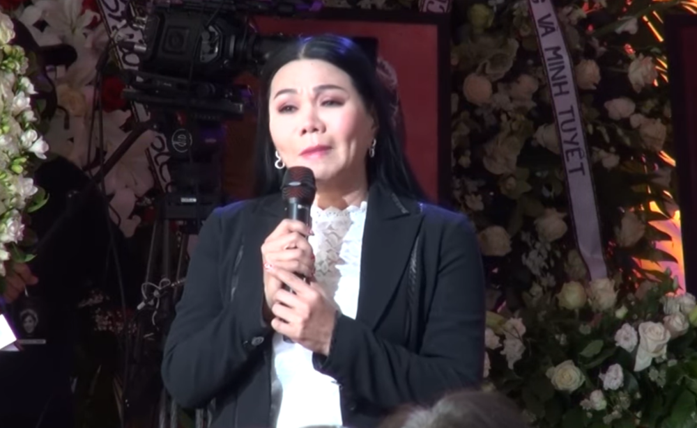 Ngọc Huyền bị nhắc, phải đổi bài vì định hát bài chưa xin phép tác giả trong tang lễ Phi Nhung - Ảnh 3.