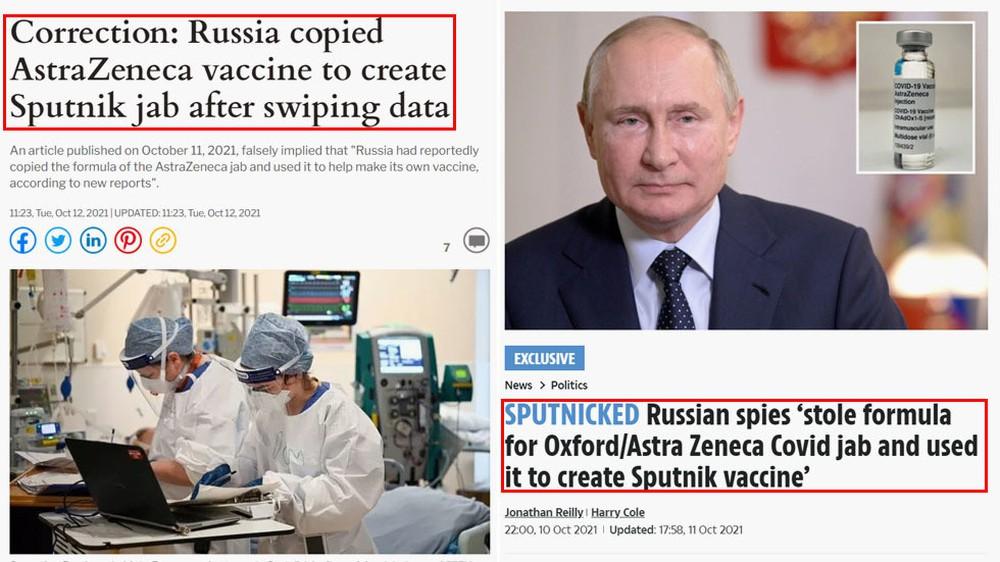Sự thật vụ Nga trộm công thức của AstraZeneca để chế ra vắc xin Sputnik V - Ảnh 1.
