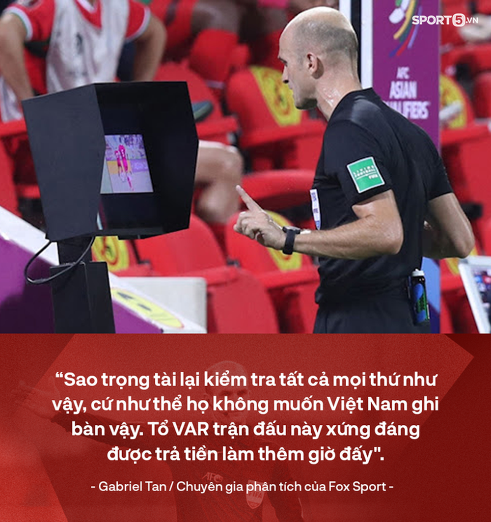 Chuyên gia nước ngoài mỉa mai tổ VAR trận ĐT Oman vs ĐT Việt Nam: Họ cần được trả tiền làm thêm giờ vì kiểm tra tất cả mọi thứ - Ảnh 2.