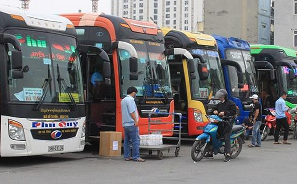 8 tuyến xe khách liên tỉnh hoạt động trong ngày đầu mở lại