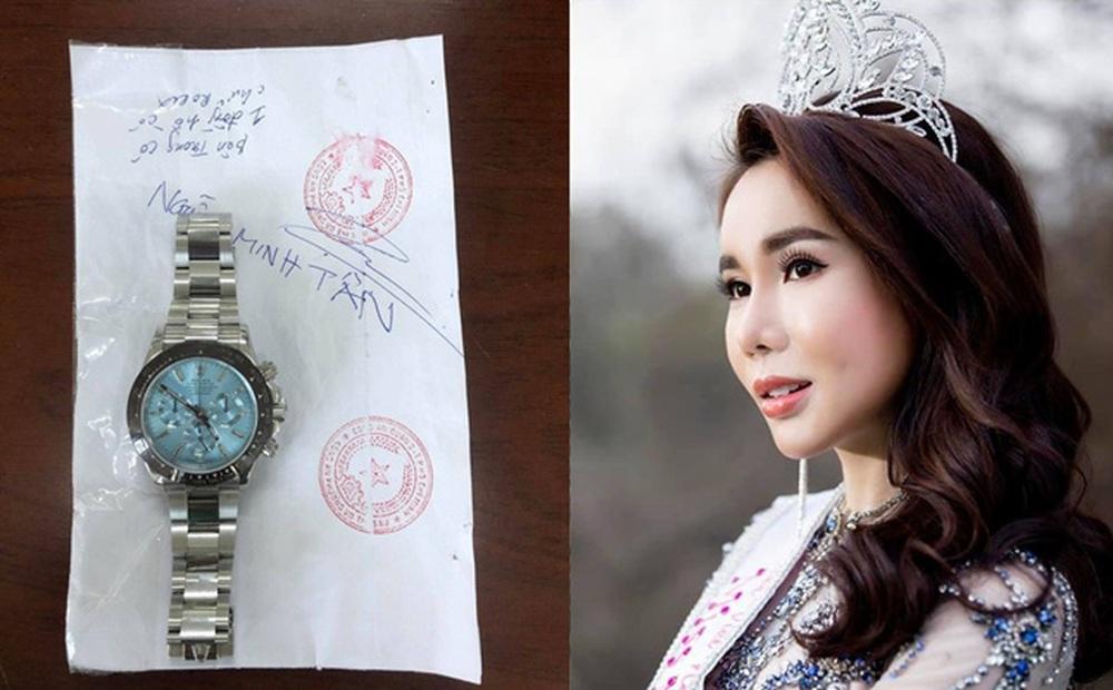 Hoa hậu Lã Kỳ Anh trộm đồng hồ Rolex 2 tỷ có thể đối mặt án tù tới 20 năm?