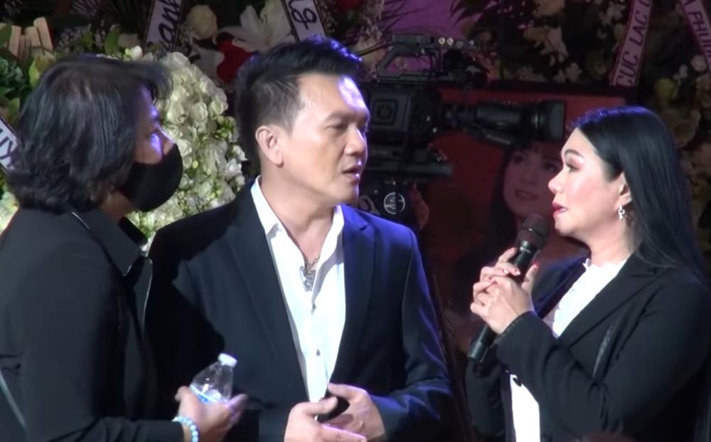 Ngọc Huyền bị nhắc, phải đổi bài vì định hát ca khúc chưa xin phép tác giả trong tang lễ Phi Nhung