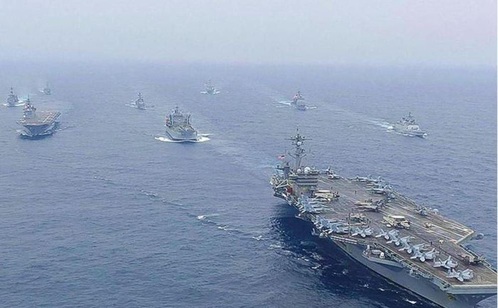 Hải quân nhóm 'Bộ tứ' tập trận trên Vịnh Bengal