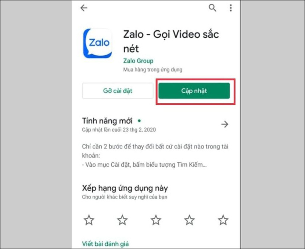 Zalo bị lỗi không nhận và gửi được tin nhắn - 10 cách sửa lỗi thường gặp - Ảnh 5.