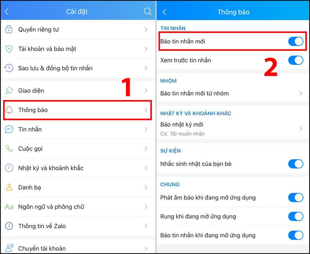 Zalo bị lỗi không nhận và gửi được tin nhắn - 10 cách sửa lỗi thường gặp - Ảnh 6.