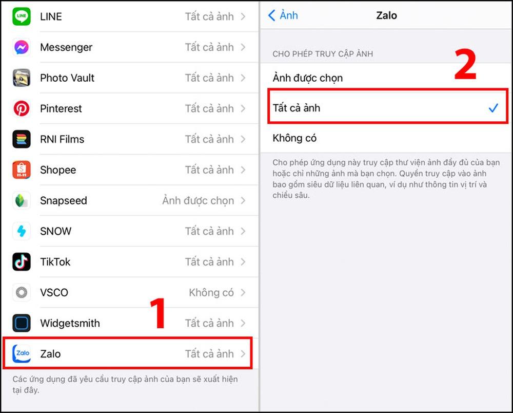 Zalo bị lỗi không nhận và gửi được tin nhắn - 10 cách sửa lỗi thường gặp - Ảnh 8.
