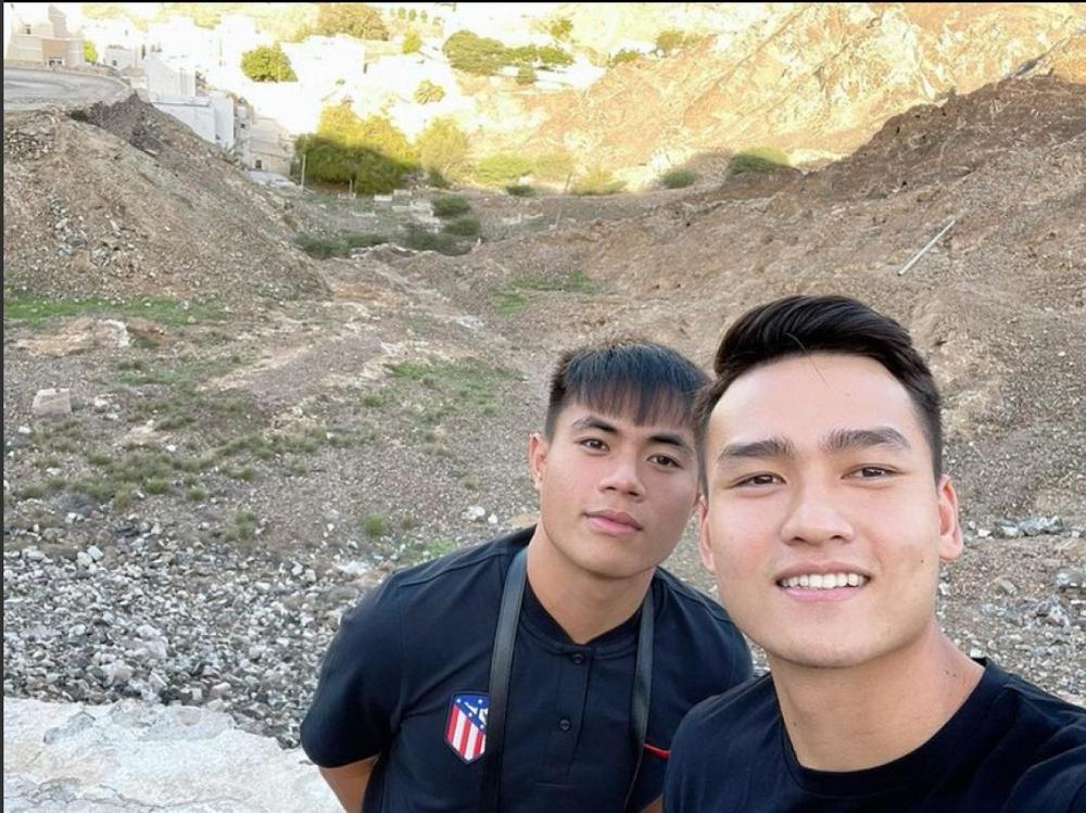 Các tuyển thủ Việt Nam khám phá Oman trước giờ lên đường về nước - Ảnh 6.
