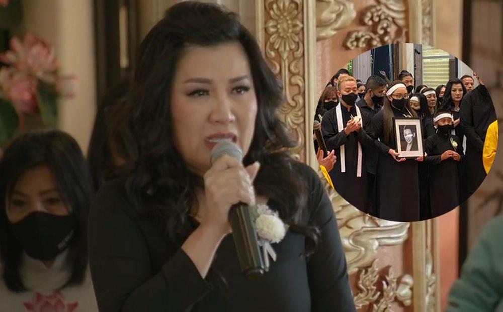 Hai ước nguyện dang dở được thực hiện ngay trong tang lễ Phi Nhung
