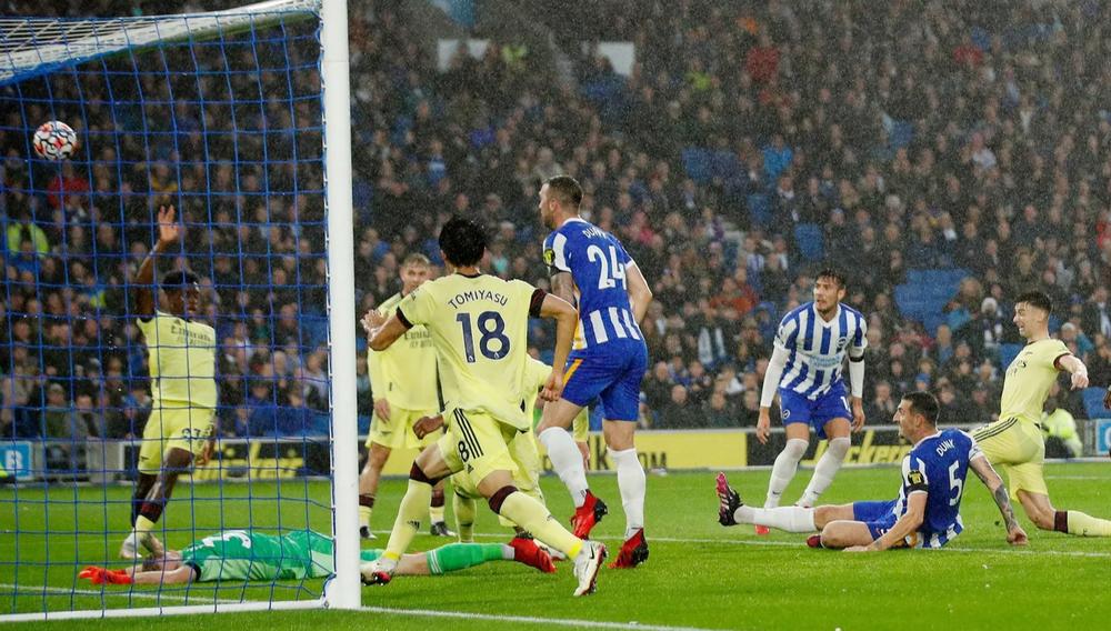 Brighton 0-0 Arsenal: Hút chết ở Falmer - Ảnh 1.