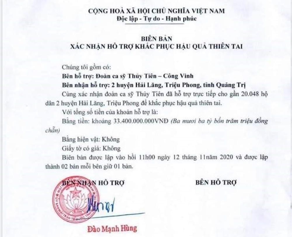 Người dân Quảng Trị nói về chuyến từ thiện của Thủy Tiên: Lúc đó 3 triệu đồng rất quý, rất cảm kích - Ảnh 3.