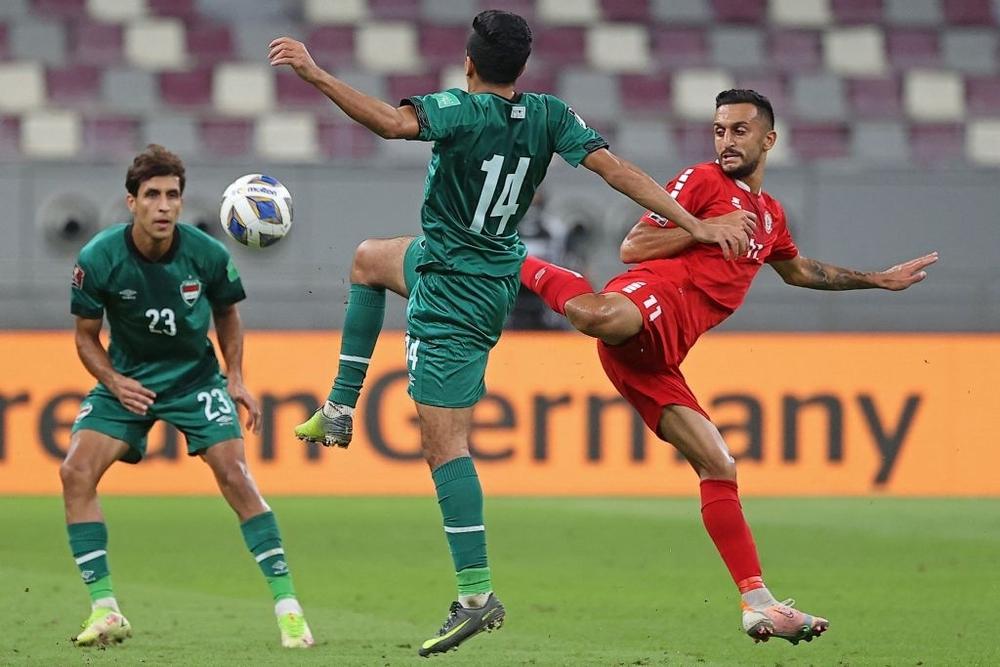 Kết quả Iraq vs Lebanon: Chơi lăn xả trước đội bét bảng, Lebanon khiến thầy trò HLV Park Hang-seo tạm yên lòng - Ảnh 3.