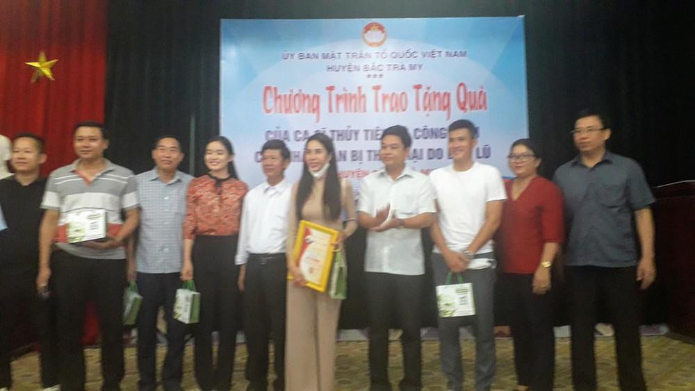 Gửi báo cáo Bộ Công an về hoạt động từ thiện của Thuỷ Tiên ở Quảng Nam: Việc trao tiền không có khuất tất - Ảnh 2.