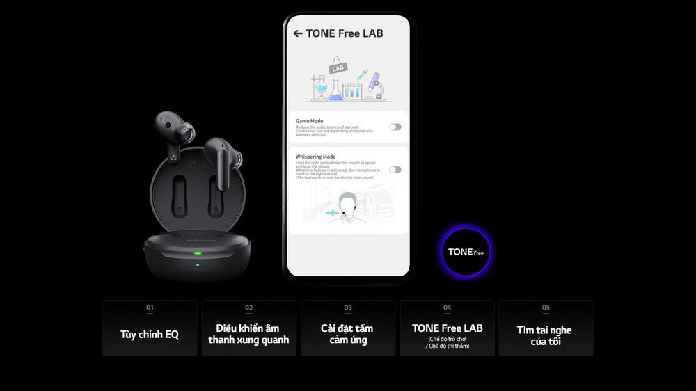 LG ra mắt 3 mẫu tai nghe không dây Tone Free dòng FP mới tại Việt Nam - Ảnh 4.