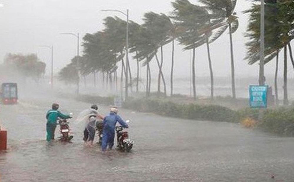 Biển Đông đón Bão số 7, miền Trung mưa tầm tã