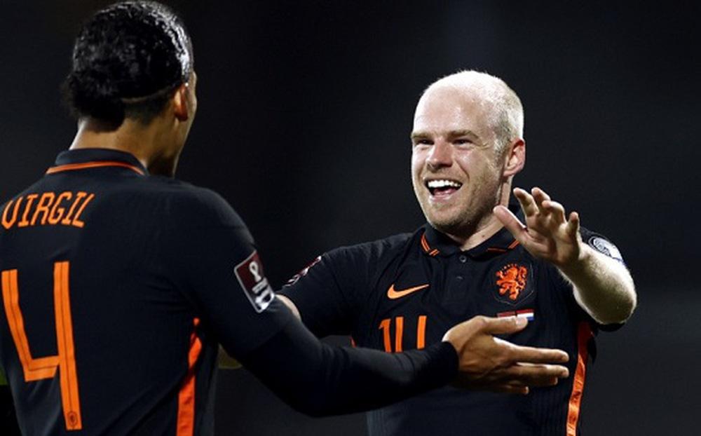 Latvia 0-1 Hà Lan: Báo động Memphis Depay