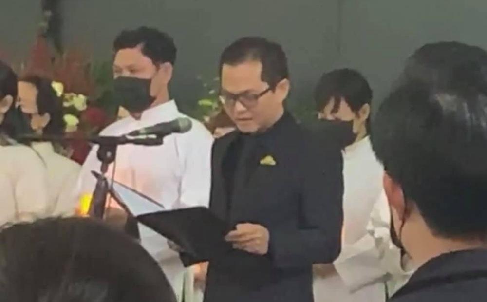 Lễ viếng NSND Hoàng Dũng: Đồng nghiệp làm điều xúc động, Trung Hiếu nói lời đưa tiễn cuối cùng